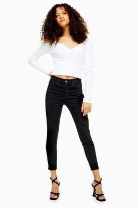 73a2132f64d0 at Topshop · Topshop PETITE Black Jamie Jeans