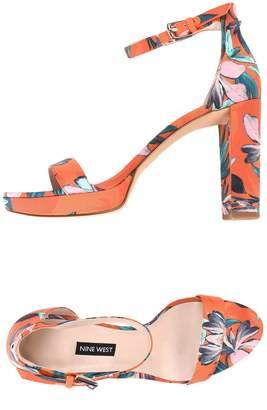 51e0b0f0c14 Nine West Orange Women s Sandals - ShopStyle