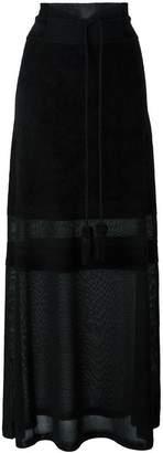 Antonio Marras semi-sheer long skirt
