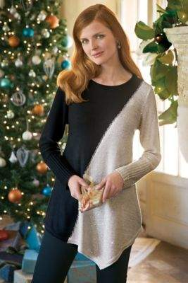 Soft Surroundings Starry Night Pullover