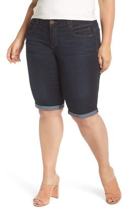 Democracy Stretch Denim Bermuda Shorts