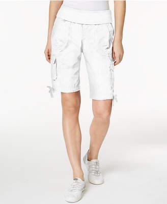Calvin Klein Cotton Pull-On Bermuda Cargo Shorts