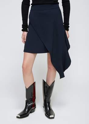 Calvin Klein Asymmetrical Hem Skirt