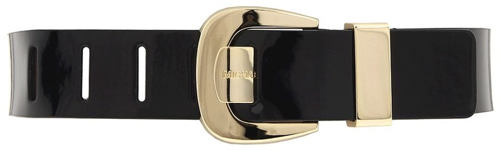 MICHAEL Michael Kors 551033 (Black/Light Polished Gold) - Apparel