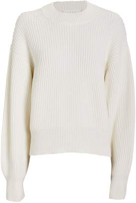 Helmut Lang Wool Cotton Crewneck Sweater