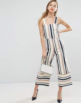ASOS Pinny Jumpsuit in Stripe $79 thestylecure.com