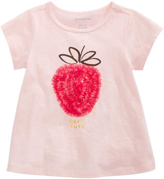 First Impressions Baby Girls Strawberry T-Shirt, Created for Macy's