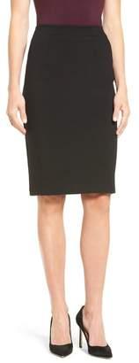 Halogen Ponte Pencil Skirt (Regular & Petite)