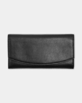 Skagen Continental Black Flap Wallet