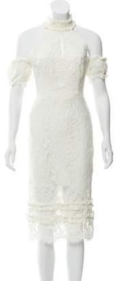 Alexis Lace Midi Dress Lace Midi Dress
