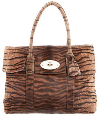 Mulberry Ponyhair Bayswater Bag $675 thestylecure.com