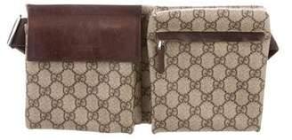 Gucci GG Coated Canvas Waist Bag