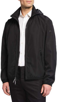 Ralph Lauren Men's Glen Deck Zip-Front Jacket