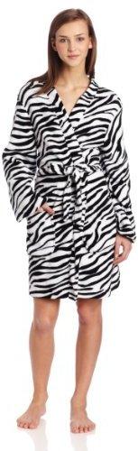 Sweet Juniors Zebra Print Kimono Robe