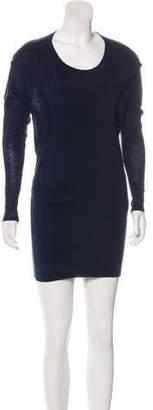 Donna Karan Wool Mini Dress