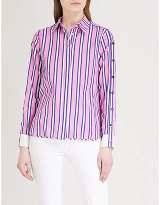 Maje Cenali striped cotton shirt