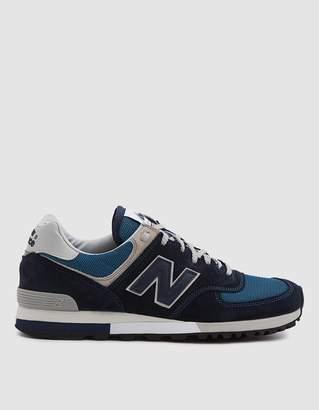 New Balance Made in UK 576 Sneaker in Navy/White