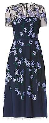 Carolina Herrera Women's Embellished Floral Midi Dress