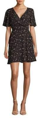 BB Dakota Floral-Print Mini Dress