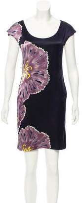 Adam Silk Floral Dress