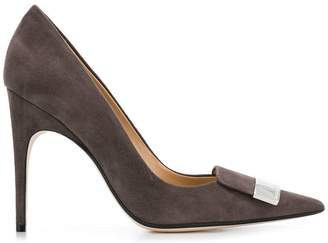 Sergio Rossi pointed plaque pumps