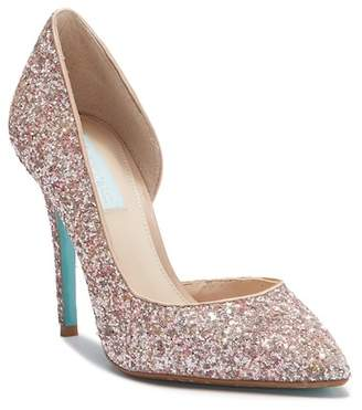 Betsey Johnson Sally Glitter Pump
