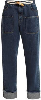 J.W.Anderson Toggle-detail straight-leg jeans