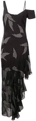Nicole Miller embellished wing dress