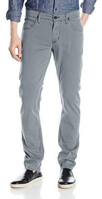 Hudson Men's Blake Slim Straight Leg + Double Cuff Lightweight Twill Pant