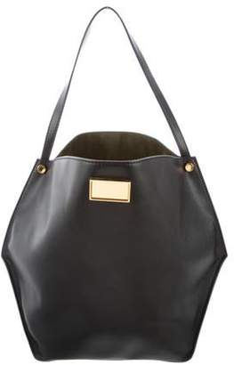 Stella McCartney Vegan Leather Tote Black Vegan Leather Tote