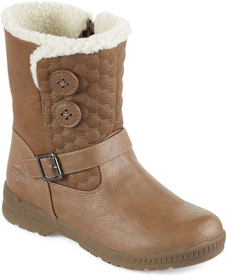 Totes Jennifer Short Quilted Winter Boots $90 thestylecure.com