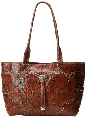 American West Carry-On Hand Tooled Carry-On