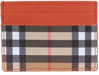 Burberry Sandon Leather Card Holder