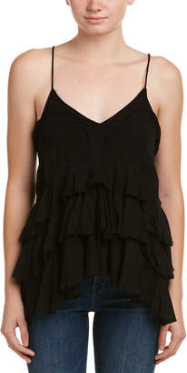 Love Sam Ruffled Tank