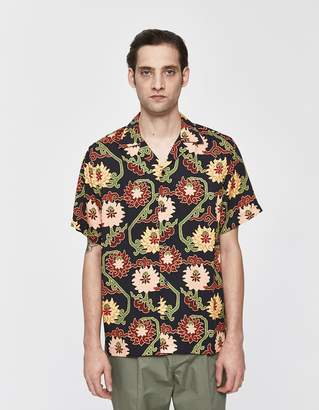 Saturdays NYC Canty Peony Button Up Shirt