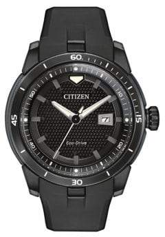 Citizen Eco-Drive Stainless Steel Ion Plated Ecosphere Strap Watch