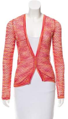 Missoni Patterned Knit Cardigan