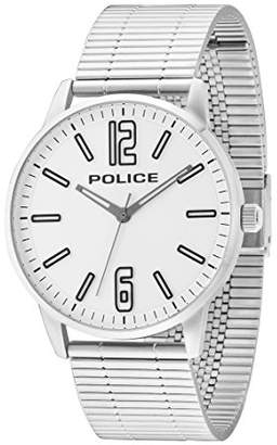 Police Men's Analogue Quartz Watch with Stainless Steel Strap 14765JS/04M