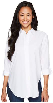 NYDJ Wide Placket Shirt Women's Long Sleeve Button Up