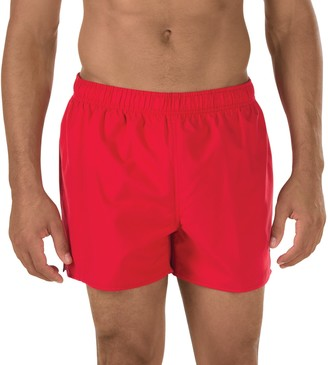 Speedo Men's Solid Surf Runner Volley Shorts