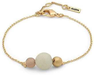 Pilgrim Women Gold Plated Strand Bracelet - 601832402