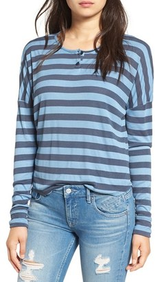 Volcom Stripe Long Sleeve Tee $35 thestylecure.com
