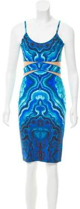 Torn By Ronny Kobo Printed Mini Dress