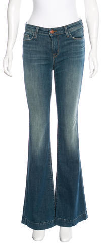 J Brand J Brand Mid-Rise Flared Jeans w/ Tags