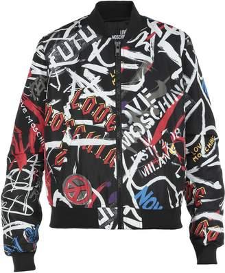 Love Moschino Multicolor Bomber Jacket