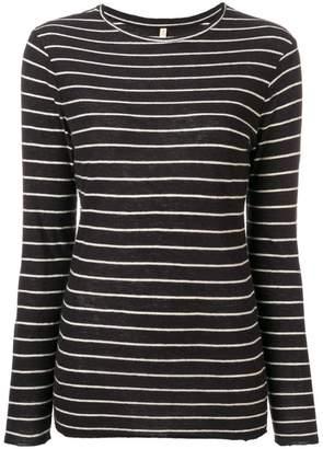 Bellerose striped long-sleeve top