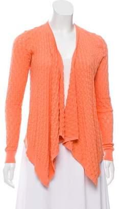 Magaschoni Asymmetrical Knit Cardigan