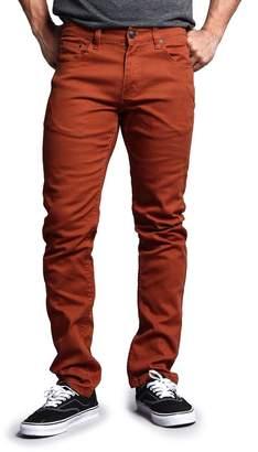 Victorious Men's Skinny Fit Color Stretch Jeans DL937 - 36/30