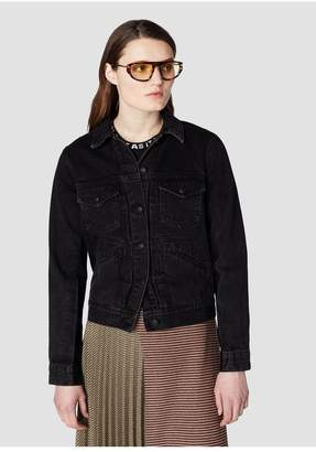 Derek Lam 10 Crosby Toby Classic Denim Jacket