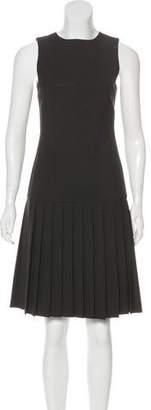 Theory Pleated Sleevless Dress